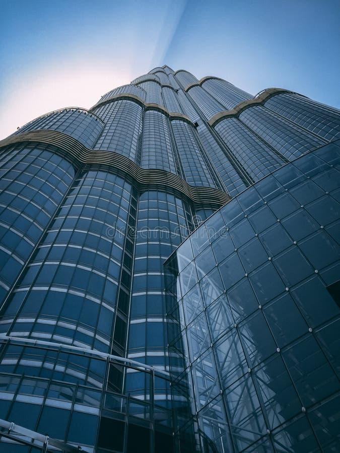 Skyskrapa från jordning fotografering för bildbyråer