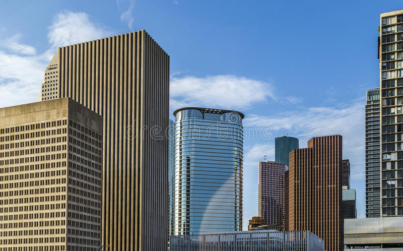 Skyskrapa i Houston, Texas royaltyfria bilder