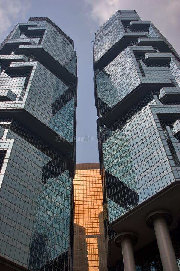 skyskrapatorn royaltyfri fotografi