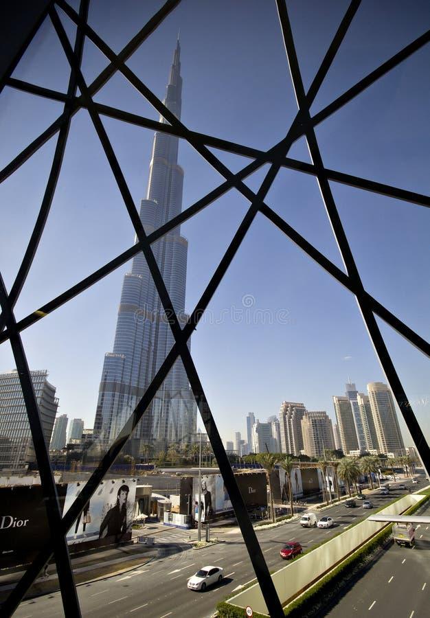 Download The Skyskraper Burj Khalifa In Dubai Editorial Photography - Image: 40043407