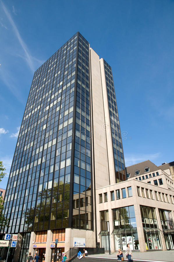 Download Skyskraper in Dortmund editorial image. Image of highrise - 34289545