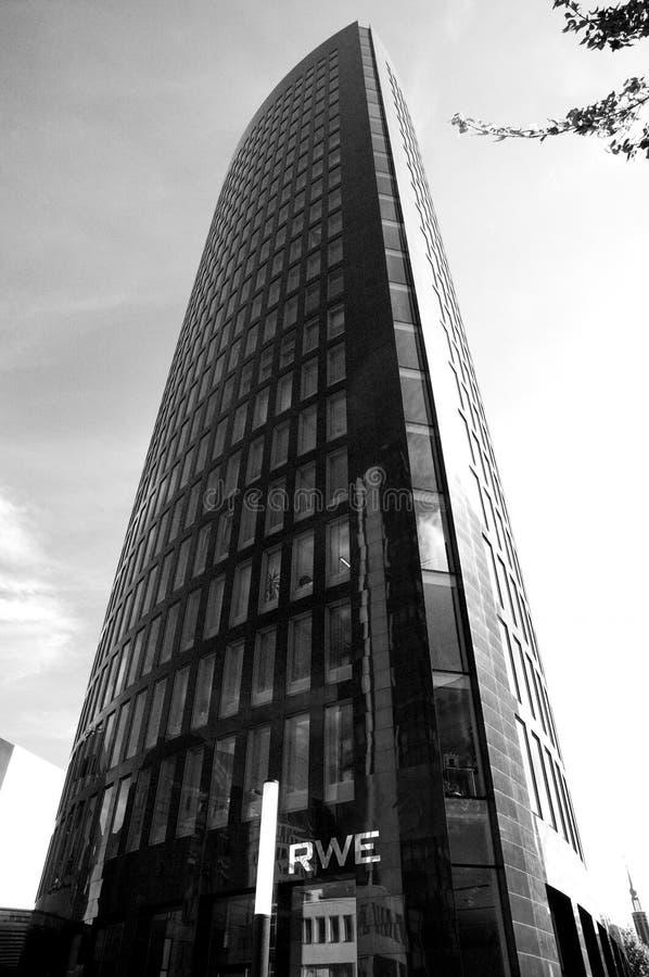 Skyskraper en Dortmund imágenes de archivo libres de regalías