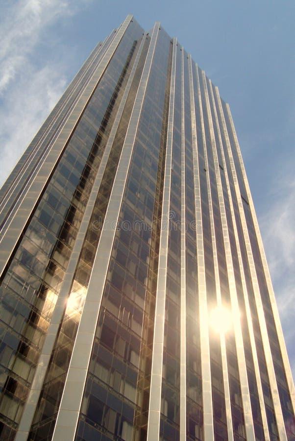 Skyskraper New York City fotos de archivo