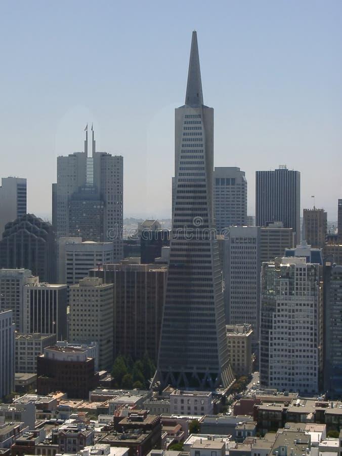 Skyskrapor Redaktionell Bild