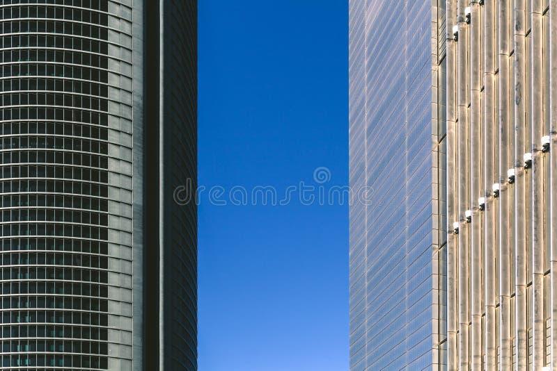 skyskrapor arkivbilder