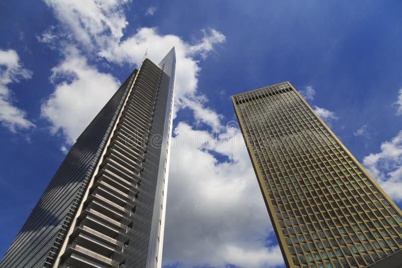 Skyskrapor av storstaden royaltyfria bilder