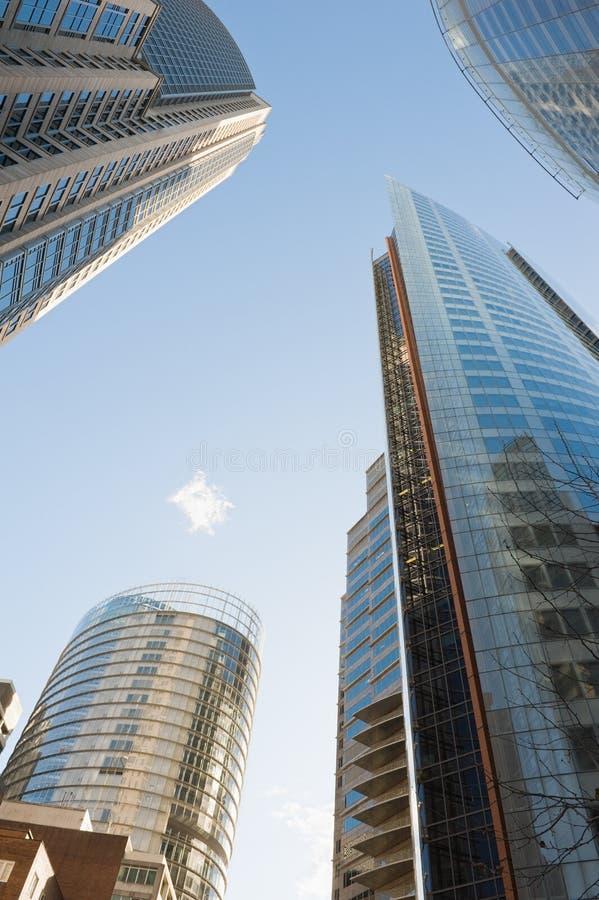 Download Skyskrapor av Sydney fotografering för bildbyråer. Bild av modernt - 27276901