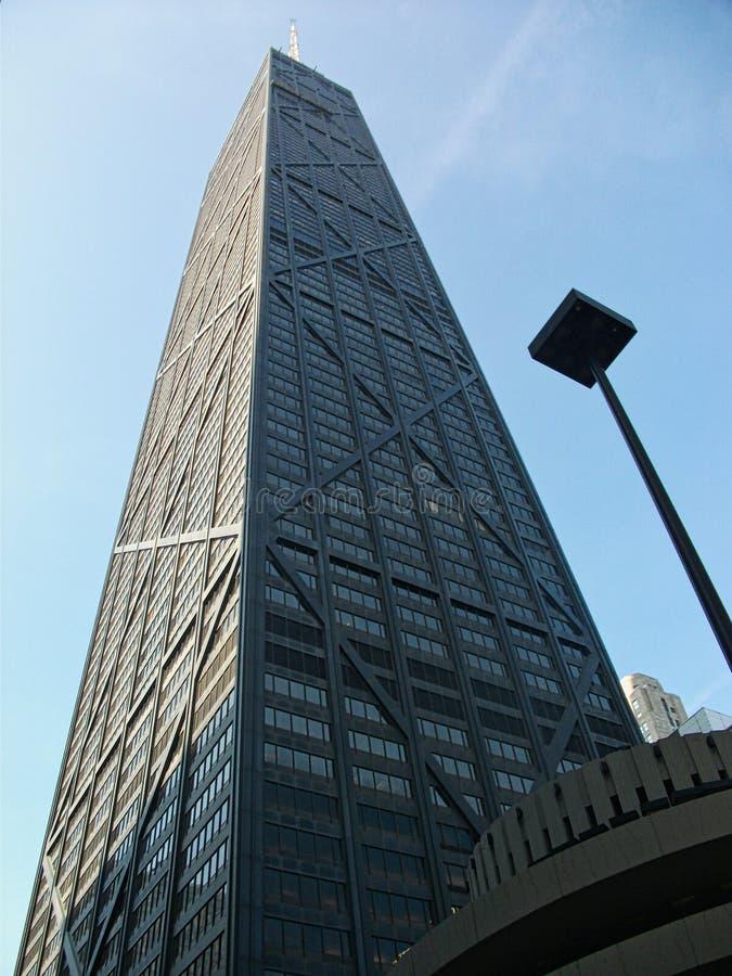 skyskrapor i chigago i staden royaltyfria foton