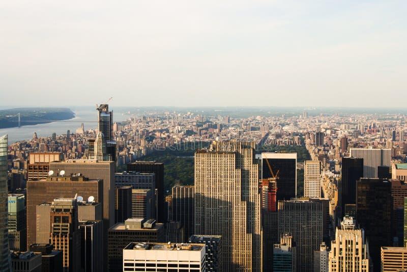 Skyskrapor NYC royaltyfri foto