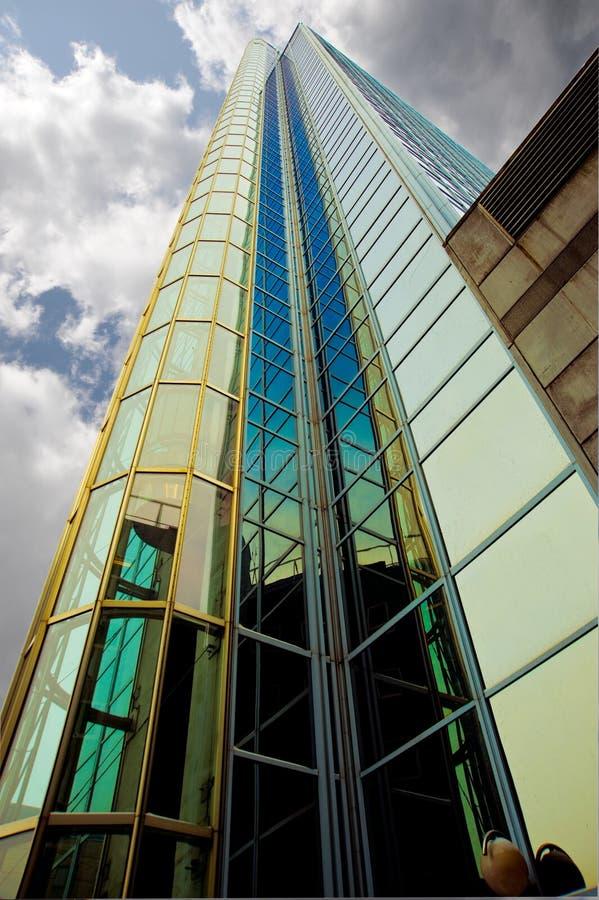 Download Skysraper foto de stock. Imagem de cityscape, azul, perspective - 12808134