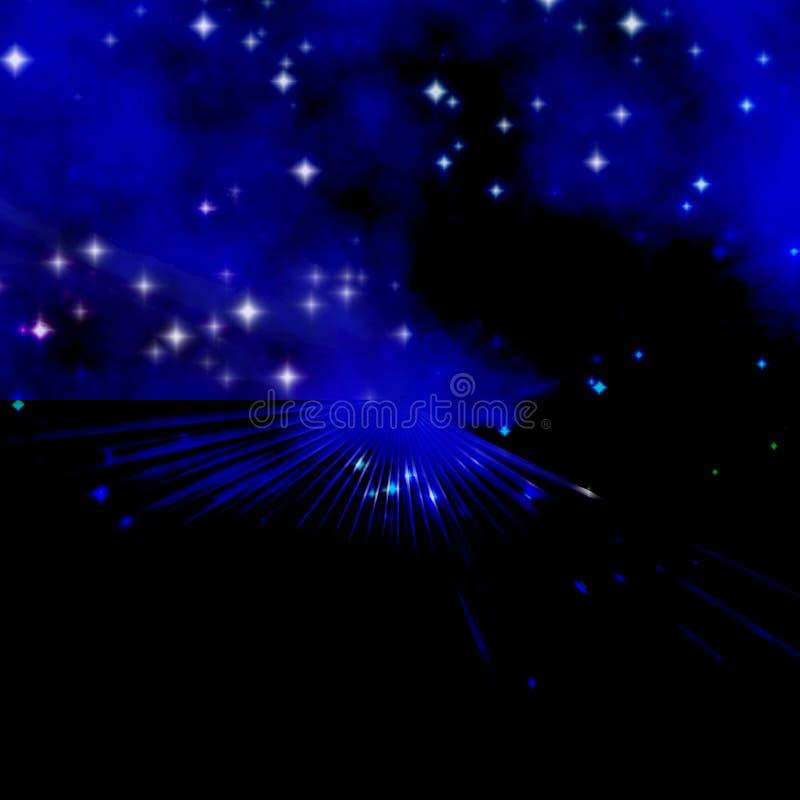 skystjärnor vektor illustrationer