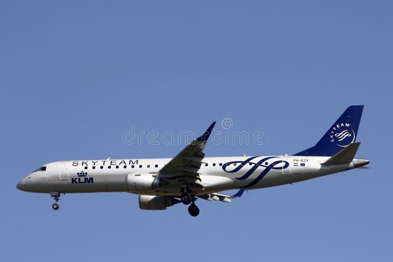 Skyteam-KLM-αερογραμμή στοκ εικόνες με δικαίωμα ελεύθερης χρήσης
