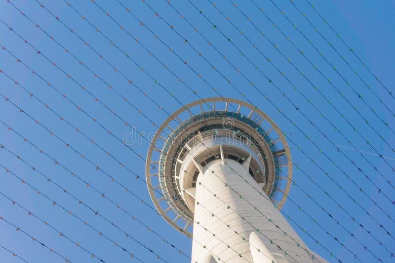 Skytower, Auckland, Nouvelle-Zélande photographie stock