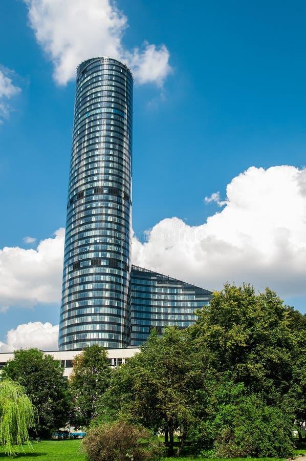 Skytower Breslau, Polen lizenzfreie stockfotografie