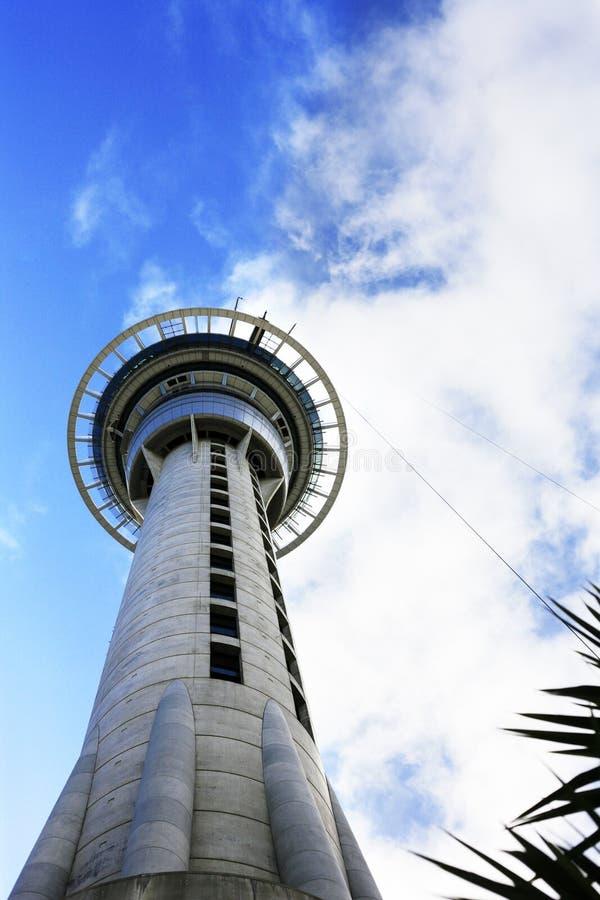 Skytower en Auckland fotografía de archivo libre de regalías