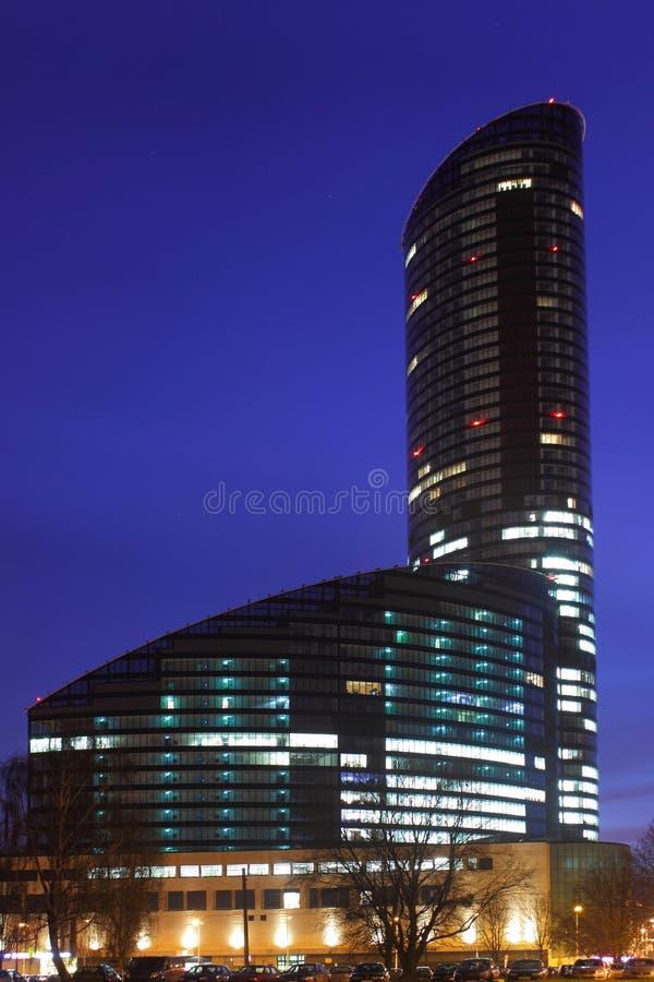 Skytower Wroclaw immagini stock
