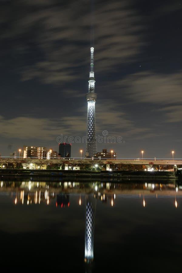 Skytree de Tokio fotos de archivo libres de regalías