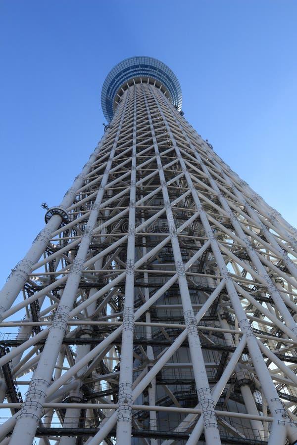 Skytree de Tokio imágenes de archivo libres de regalías