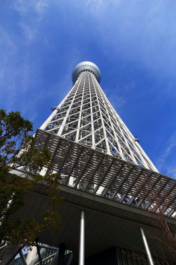 Skytree de Tokio foto de archivo libre de regalías