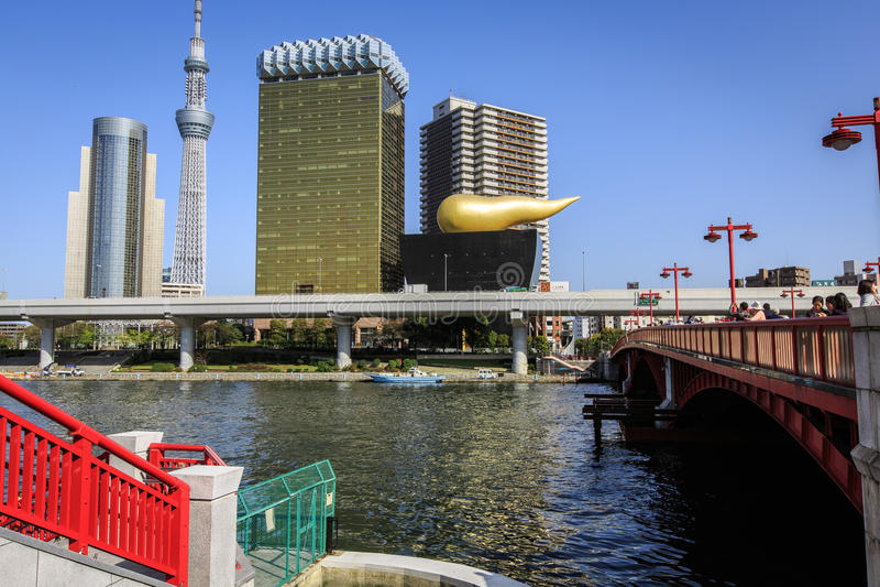 Skytree de Tokyo images stock