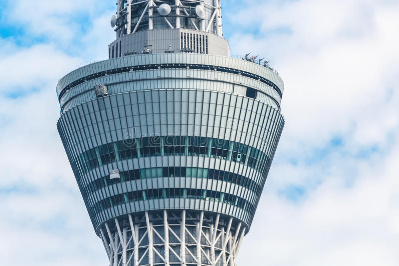 Skytree de Tokyo fotografia de stock royalty free