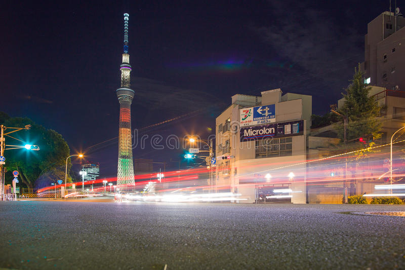 Skytree Tokyo lizenzfreies stockbild