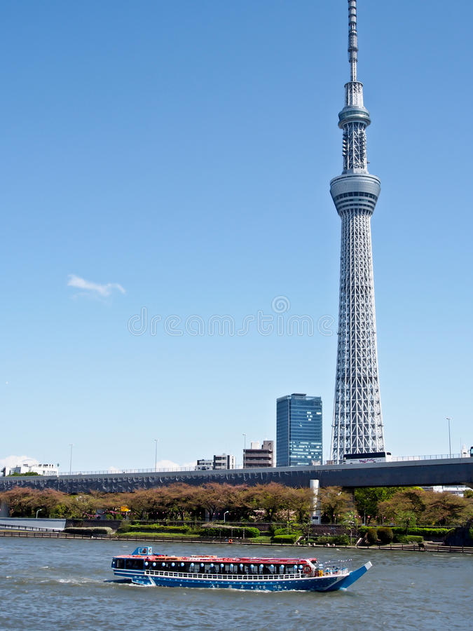 Skytree van Tokyo royalty-vrije stock foto