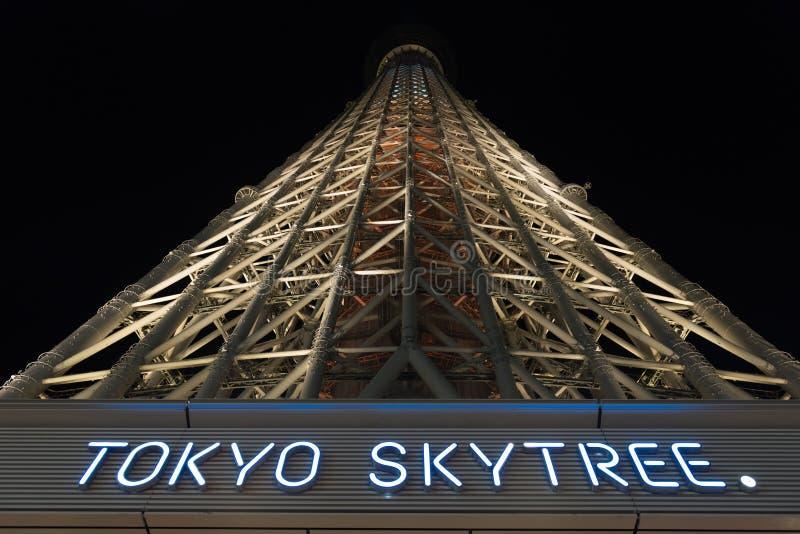 Skytree van Tokyo royalty-vrije stock foto's