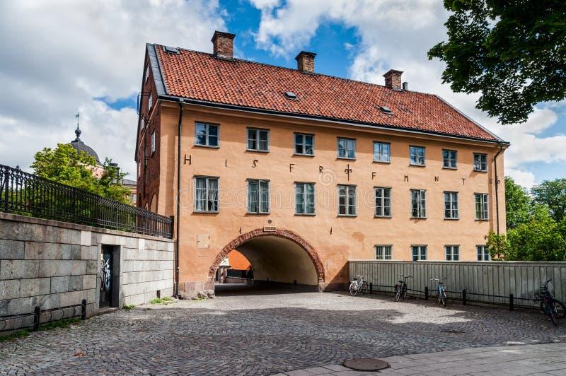 Skytteanum - en av uppehållen av det Uppsala universitetet för arkivfoton