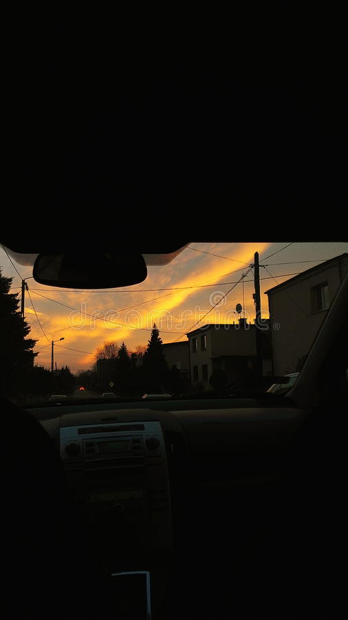 skyview 图库摄影