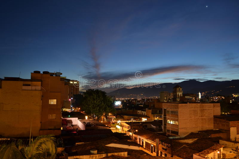 Download Skyview image stock. Image du nuages, medellin, sunset - 87703603