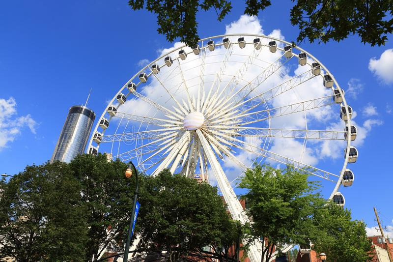 Skyview Atlanta photos libres de droits