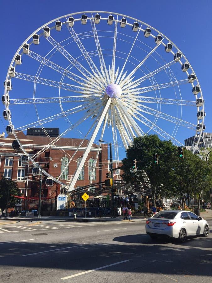 Skyview Atlanta lizenzfreie stockbilder