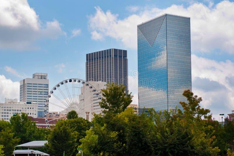 SkyView Atlanta Etats-Unis photos libres de droits