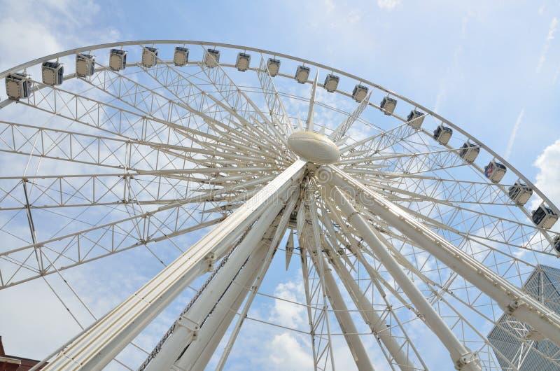 Skyview Ferris Wheel Atlanta, la Géorgie images libres de droits