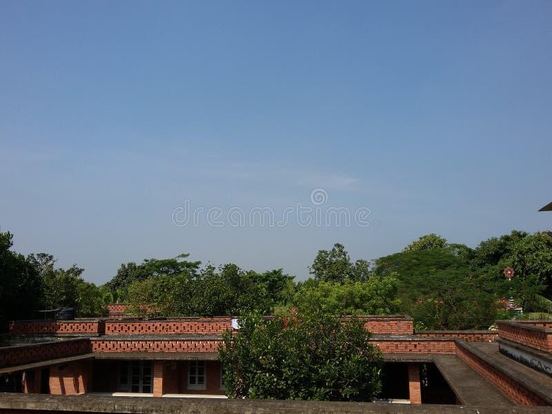 Skyview naturale immagine stock