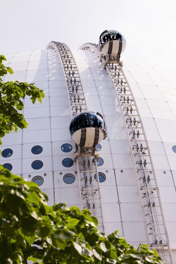 Skyview Stockholm stock image