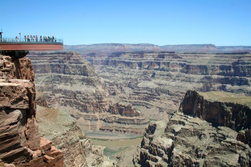 Skywalk Grand Canyon Stock Image Image Of Majestic