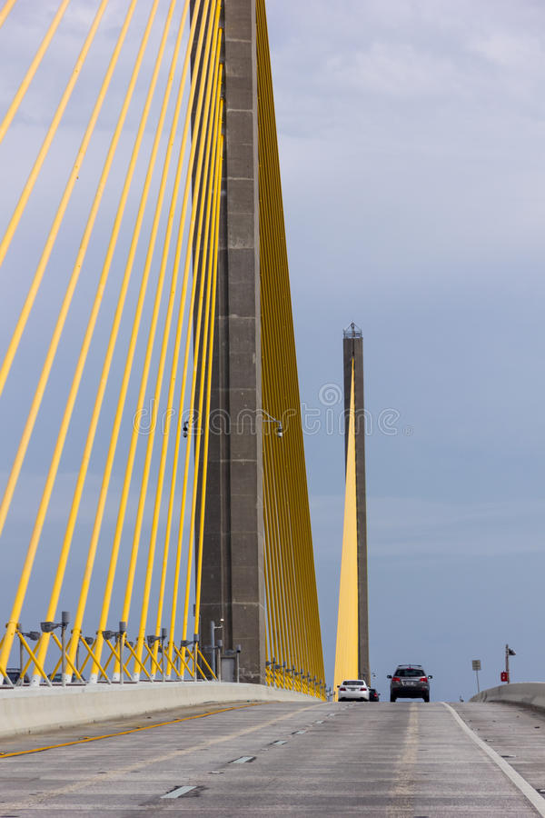 Skyway-Brücke stockfoto