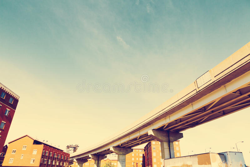 Skyway i Chicago arkivbild