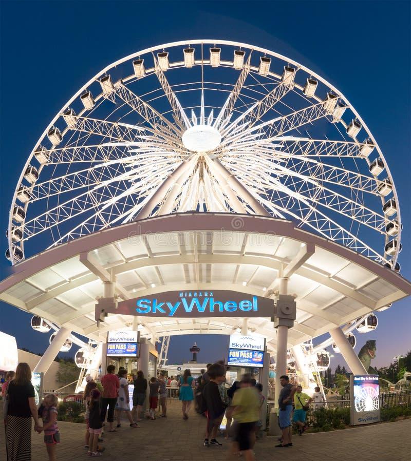 Skywheel Niagara Falls, Ontario, Canada stock images