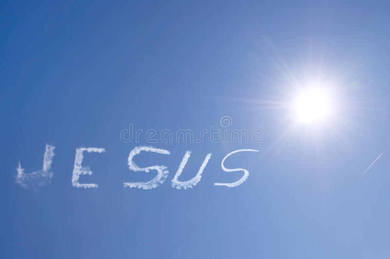 Download Jesus In The Sky Stock Image - Image: 29884791