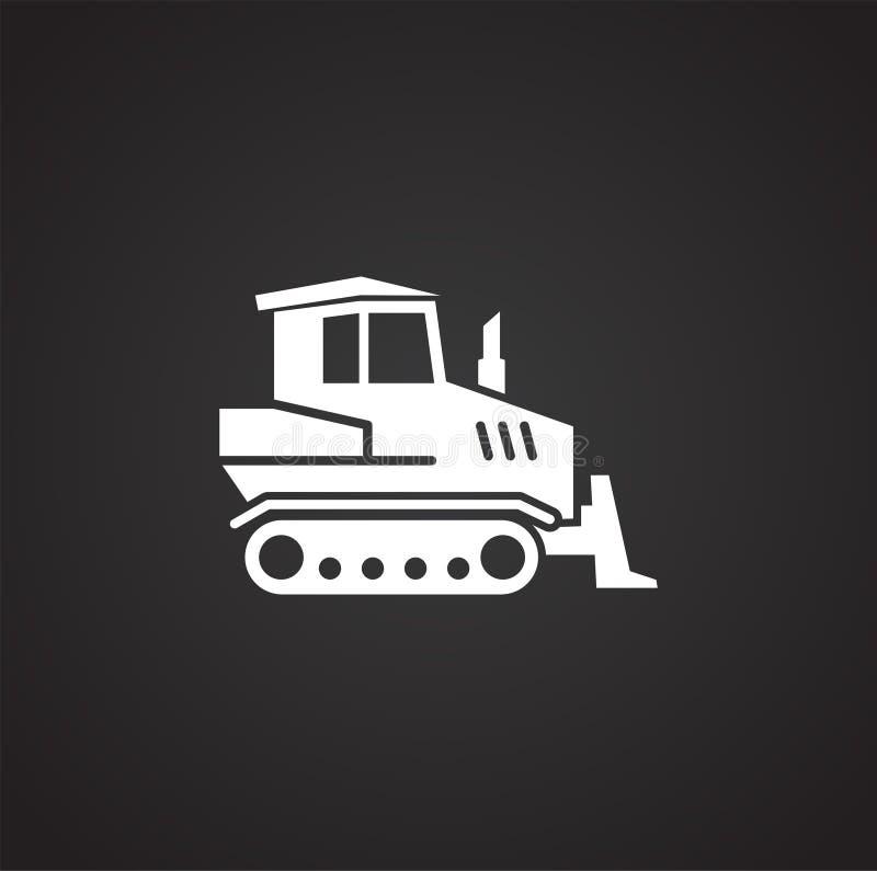 Släkt symbol för tungt medel på bakgrund för diagram och rengöringsdukdesign enkel terminal f?r flygplanillustration Internetbegr royaltyfri illustrationer
