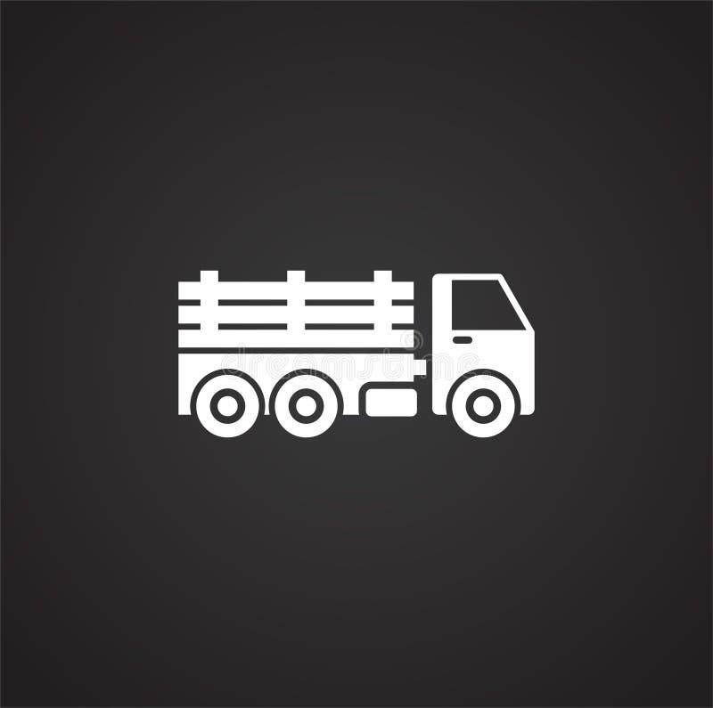 Släkt symbol för tungt medel på bakgrund för diagram och rengöringsdukdesign enkel terminal f?r flygplanillustration Internetbegr vektor illustrationer