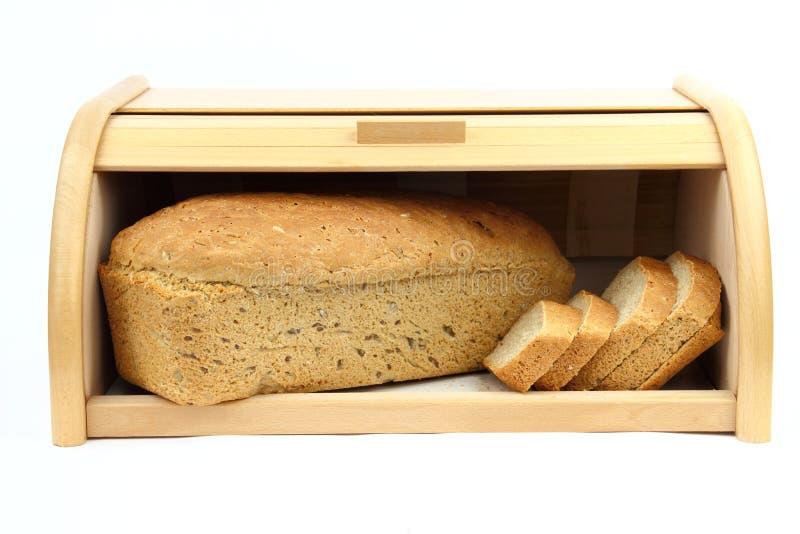 Släntra av bröd royaltyfria bilder