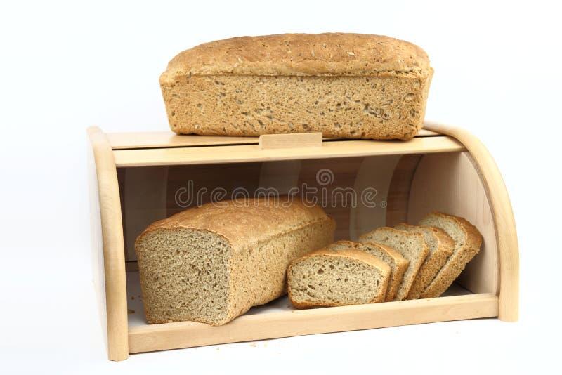 Släntra av bröd arkivfoto