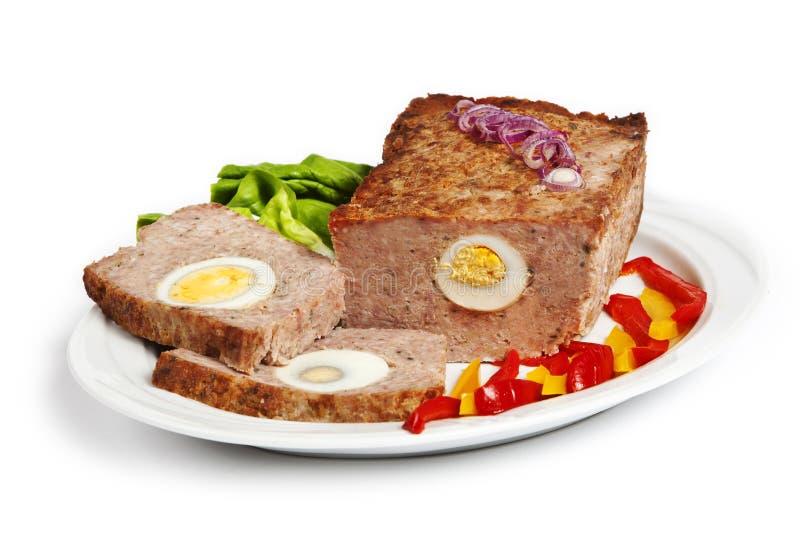släntra meat royaltyfria bilder