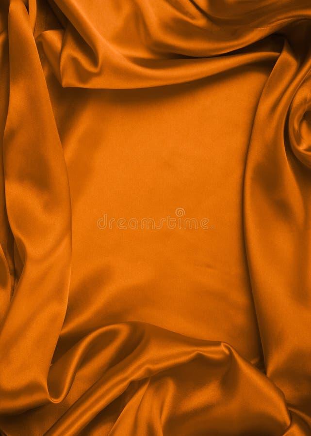 Slät elegant röd silk kan använda som bakgrund royaltyfri bild