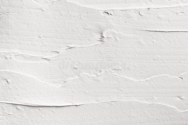 Slät murbruktextur för vit arkivbild