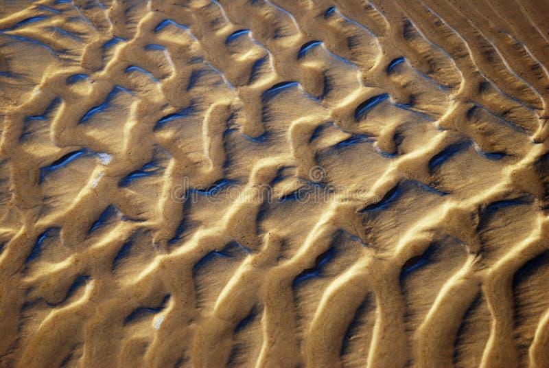 slätat vatten för modell sand royaltyfria foton